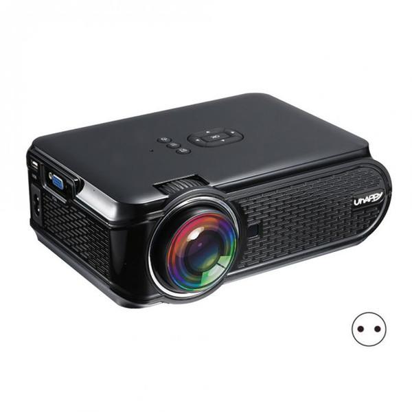 EU Plug LCD Projector Full HD 1080P Home Theather Cinema HDMI VGA USB LED Projectors for Video Media Player XXM8
