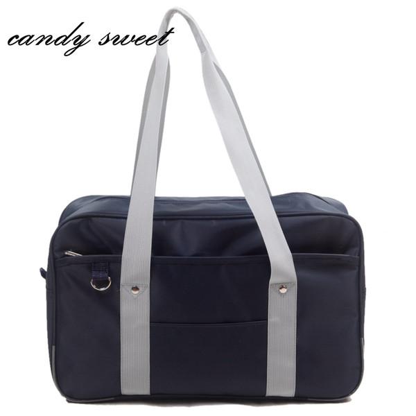 Japanese Style JK Uniform Cosplay Handbag Brand Fashion Oxford Shoulder Bag High School Students Bookbag Travel Messenger bag