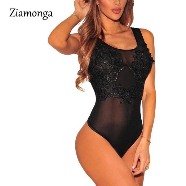 Hochwertige schwarze Overalls mit Leopardenmuster Lässige Overalls Damen Bodysuit Lady Strampler Club Wear Damen Overalls Bodysuits S2856