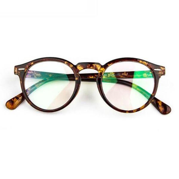 Vintage Optical Eyeglasses Frame Women/Men Computer Frames Eyewear Eyeglasses Fashion Myopia Glass Frames Spectacles Eyeglasses