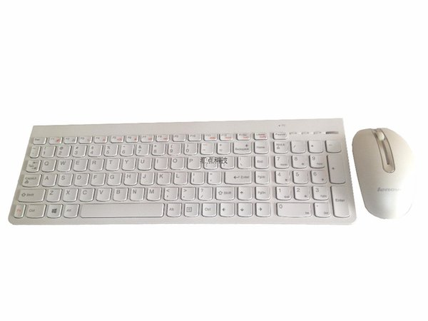 Applicable for Lenovo SK-8861 laptop all in one desktop computer mute thin white wireless US mouse and keyboard set