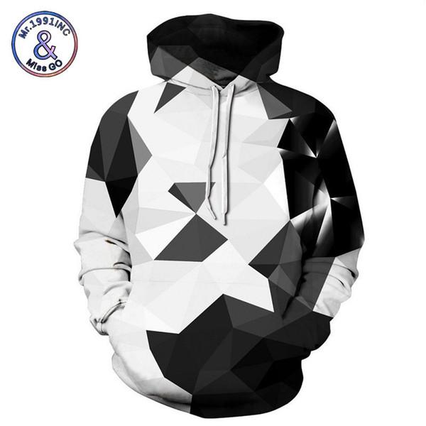 Mr.1991INC Fashion 3d Hooded sweatshirt Colorful triangle combination print Men/Women Space Galaxy pullover Hoodies Sweatshirts D1892905
