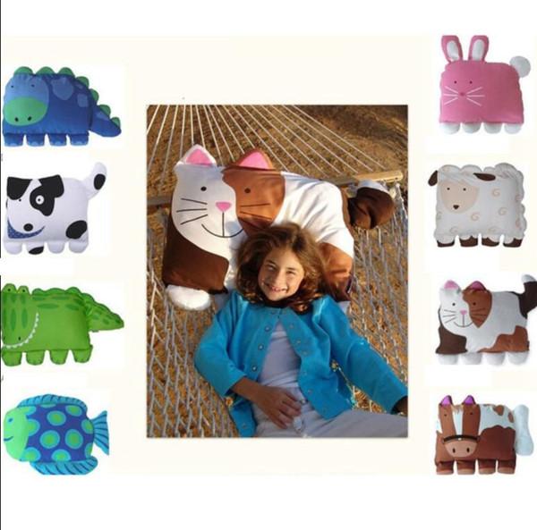 alrededor de 80 CM * 55 CM Forma Animal Funda de almohada Bebé Niños Niños pequeños Animales de dibujos animados Animales de dibujos animados Funda de almohada Fundas de almohada KKA4515