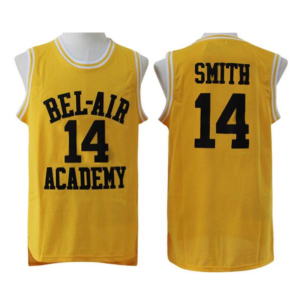 Maillot de basketball Will Smith pour homme Le nouveau prince de l'Académie Bel Air 25 Carlton Banks Vert Noir Vert Stiched Nom Numéro Logos