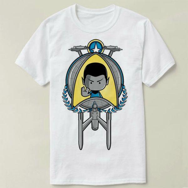 Star Trek t shirt Spock prosper short sleeve gown Leisure tees Unisex clothing Quality cotton fabric Tshirt