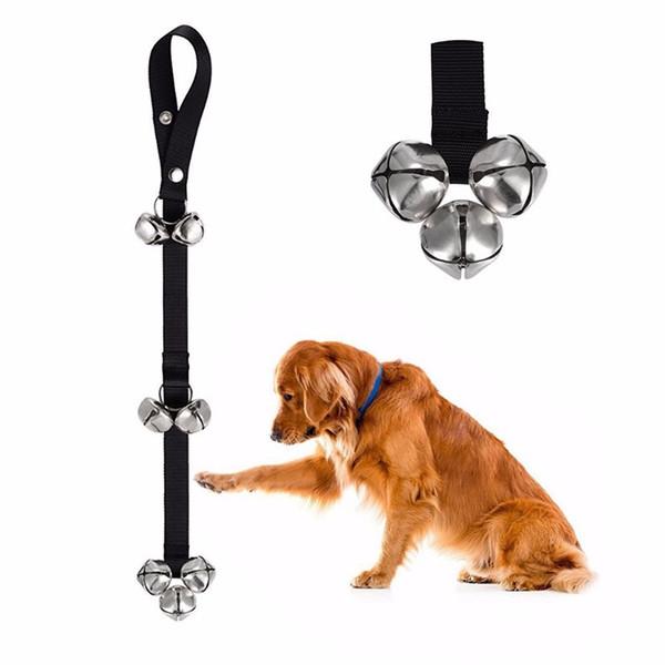Perro mascota Orinal entrenamiento Campanas de la puerta Cuerda entrenamiento de la casa Incumplimiento de casa Perdido campanas perro Correa de la cuerda
