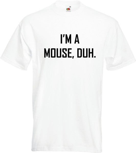 Duh T-shirt Mean Girls Hipster Comedy Ladies T-Shirt Size S-XXL I/'m A Mouse