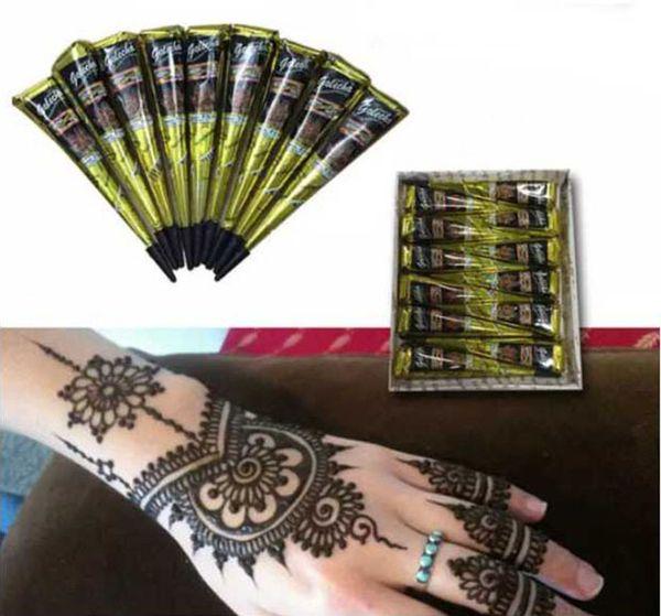 Black Henna Body Art