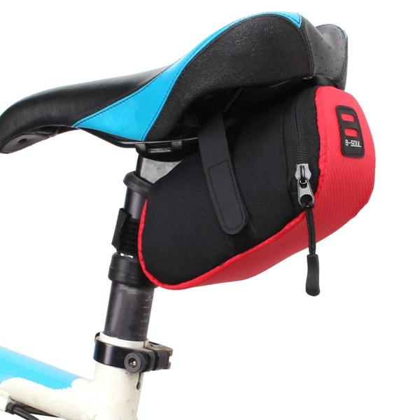 Mountain bike tail package road bike seat cushion car seat riding bag equipment bicycle accessories saddle bag folding tail
