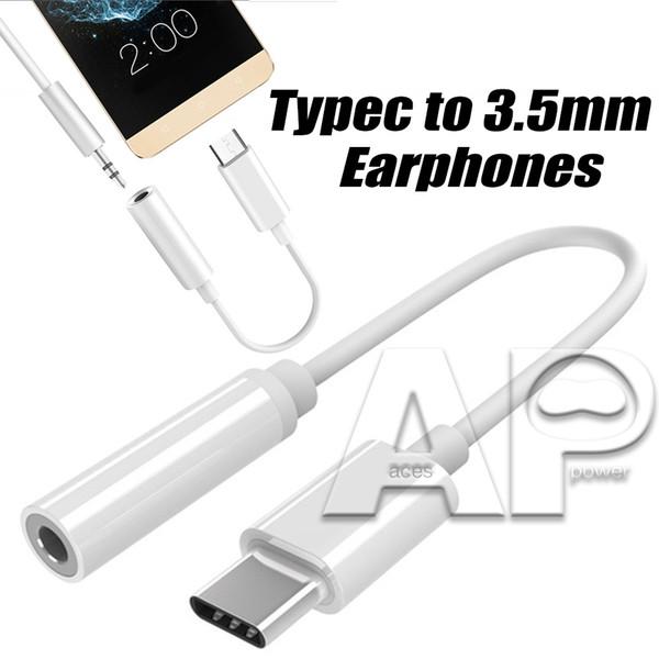 Адаптер для наушников USB 3.1 типа C с разъемом 3,5 мм USB-C Гнездо для наушников Адаптер аудиокабеля для смартфона Type-C