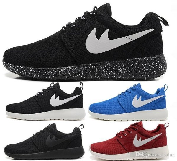 roshe run 2014 Chaussures Rouge Mode Hommes Femmes Sport Running Londres Olympique Runs Chaussures Marche Sporting Chaussures Sneakers 36-46Livraison Gratuite
