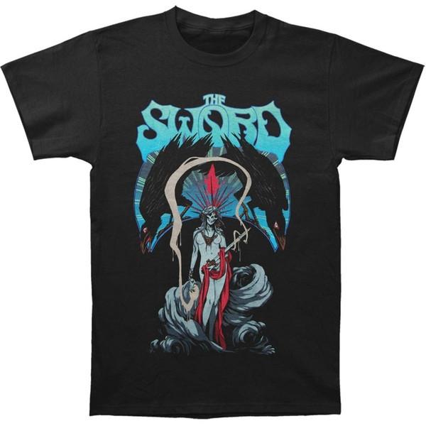 Tee Shirt Ideas O-Neck Men Short Sleeve Tall The Sword Men's Barael's Blade T-Shirt Black Men's Fashion T-Shirt T Shirt