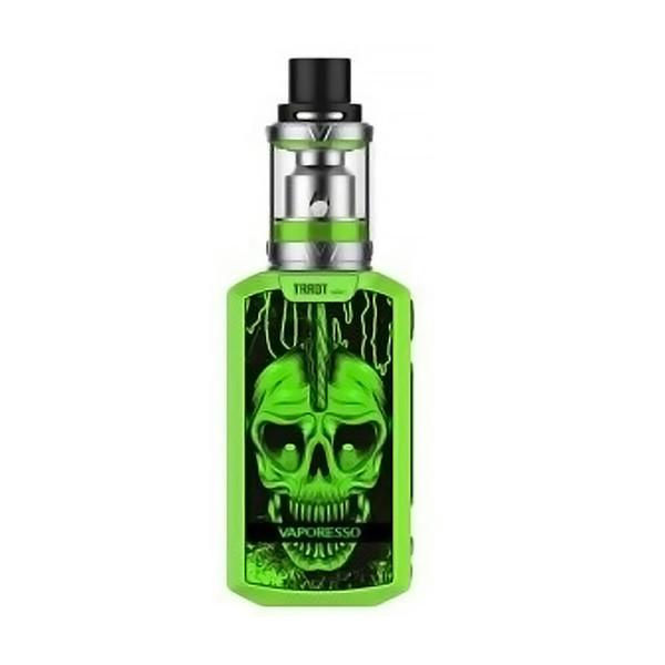 Green Punk Skull