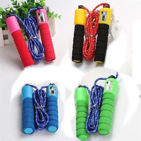 Sports toys new counting rope skipping, special rope skipping for school practice, direct selling of children's leisure sports toys