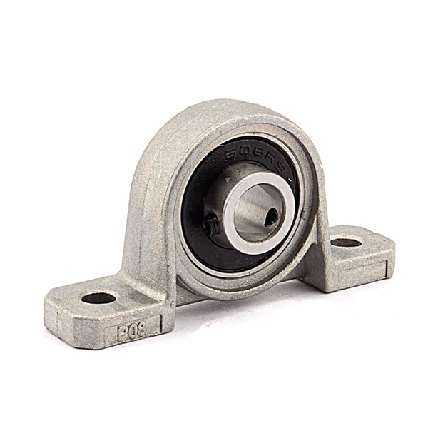 Bore Ball Bearing Pillow Block Mounted Support Caliber Zinc Alloy Mounted Ball Bearing KP08 Pillow Block 8/10/12/20mm free shipping