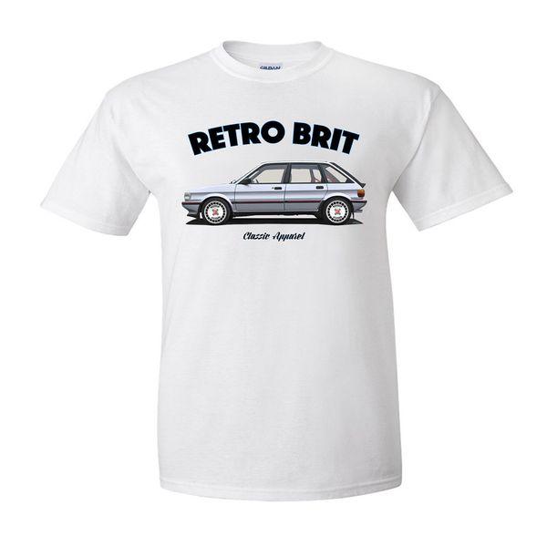 AUSTIN ROVER RETRO BRIT MG MAESTRO t-shirt MODIFIED. CLASSIC CAR