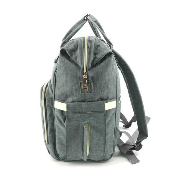 Mumya sırt çantası çok fonksiyonlu büyük kapasiteli sırt çantası Bao Ma seyahat anne ve çocuk hamile kadınlar hafif teslimat çanta seyahat çantası