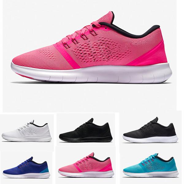 Nike Free Run 5.0  Kadınlar Koşu Ayakkabı Flyknit Mavi Kalite