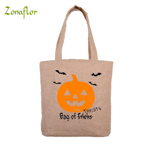 Zonaflor Pre-sale 2pcs Halloween Gift Bag 8 New Styles Pumpkin Drawstring Candy Stocking Bags Festive Party Decoration