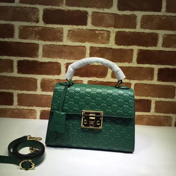 huweifeng4 Quality Top Brand design Letter embossing Metal Buckle Shoulder Bag Real Cowhide Leather Woman 453188 Handbag