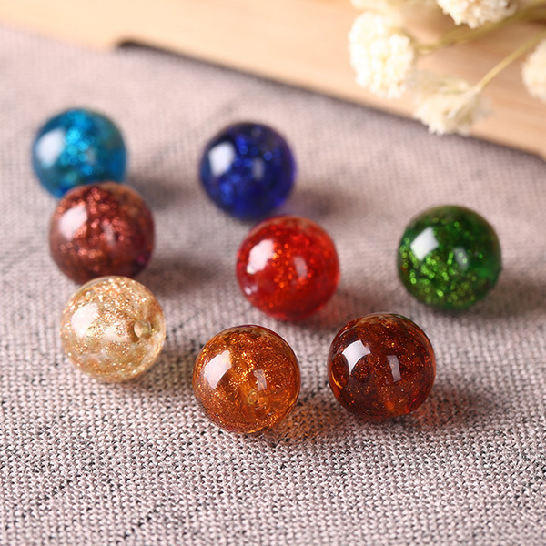 8MM Élégant Bijoux Verre Perles En Verre Rondes étoilées Verre Brillant Perles en Verre pour Collier Bracelet DIY Faire Constatations en gros