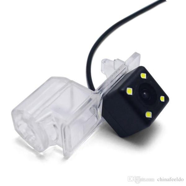 LEEWA Caméra de recul avec LED pour Ford Edge Fusion Mondeo Kuga Escape Reculer Parking Caméra # 3916