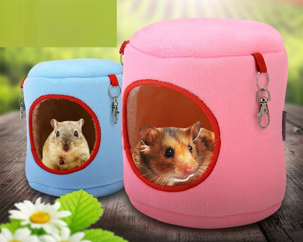 Fashion Hamster House Hedgehog Nest Pet Hammock Hanging Bed Holland Pig Squirrel Nest Winter Keep Warm