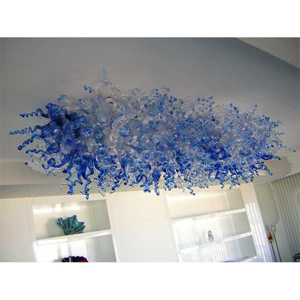G9 LED Glass Chandelier Light for Home Lighting Energy Saving Warm White Bulbs Murano Ceiling Lamp