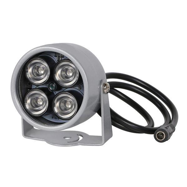 ИК-осветитель свет 850 Нм 4 массива светодиодов инфракрасный водонепроницаемый ночного видения CCTV Fill Light DC 12V для CCTV камеры безопасности