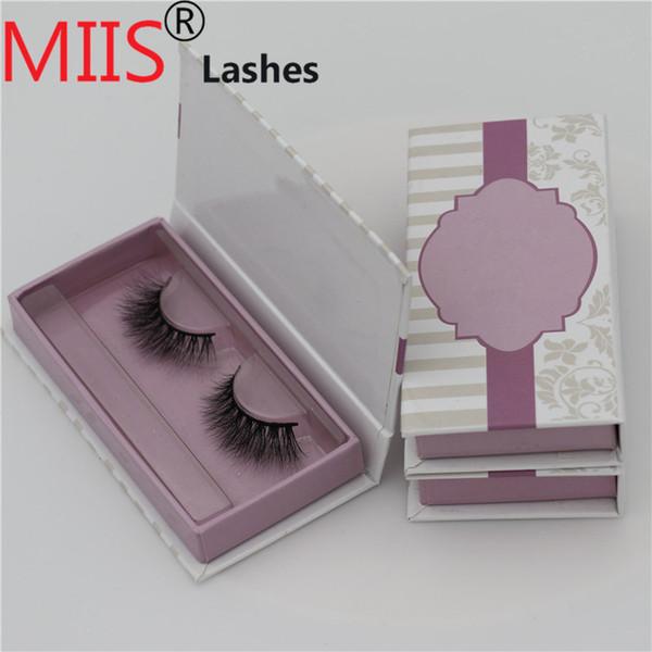 High Quality Eyelashes Custom False Eyelashes Packaging Box with Eyelash Inserts