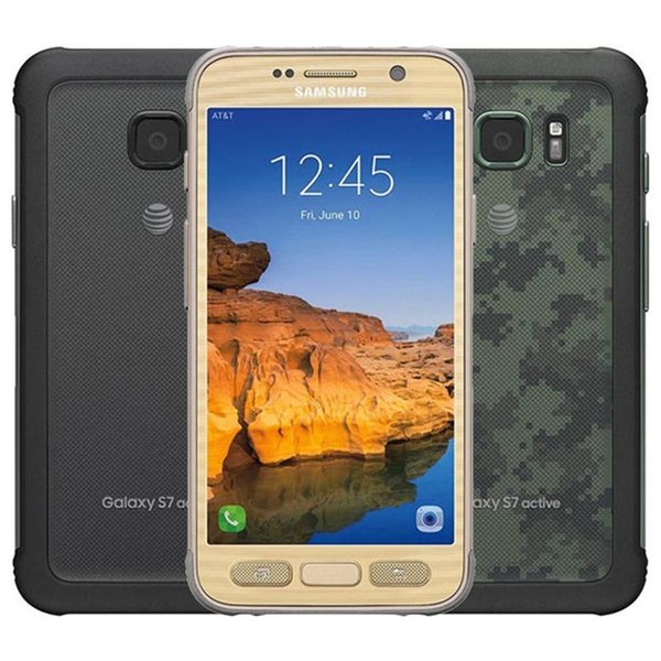 "Refurbished Original Samsung Galaxy S7 Active G891A 5.1"" Quad Core 4GB RAM 32GB ROM 12MP Rugged Outdoor Unlocked Phone DHL 1PC"