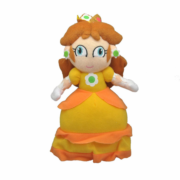 """Hot New 8.5"""" 21.5CM Super Mario Bros Daisy Plush Doll Anime Collectible Dolls Gifts Stuffed Soft Toys"""