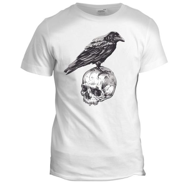 Skull Biker Motorcycle Club Tattoo Mens Gang Garage Motorbike Movie 2XL T Shirt 2018 High quality Brand Men T shirt Casual Short sleeve