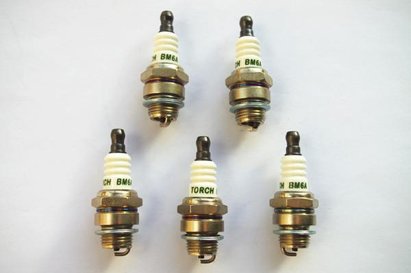 5 X Spark plugs BM6A fits Kawasaki TD40 Mitsubishi TL23 TL26 TL33 TL43 TL52 trimmer brush cutter chainsaw parts
