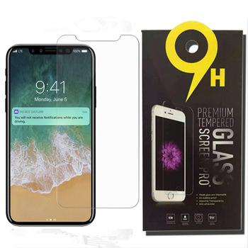 For iPhone XS Max 6.5inch XR Tempered Glass iPhone X 8 Screen Protector For iPhone 7 7 Plus Film 0.33mm 2.5D 9H Anti-shatter Hot sale