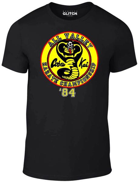 Camiseta Cobra Kai para hombre - REGALO JUEGO DE PELÍCULAS DE CELULAR DE KIT DE KAR FU DE JUDO KUNG DE FUEGO CULTFunny envío gratis Unisex Casual camiseta de regalo
