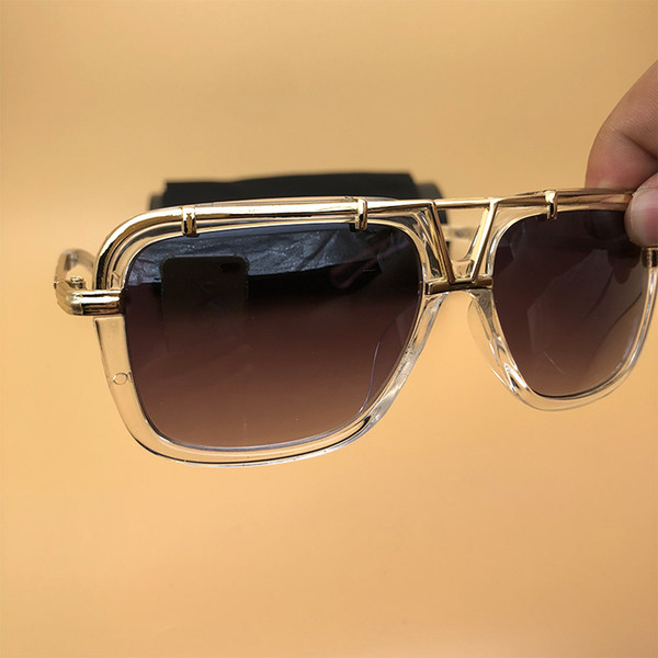 Cheap Metal Sunglasses Women Men Square Frame Eyeglasses Fashion Brand Clear Eyewear Lunettes De Soleil 4019