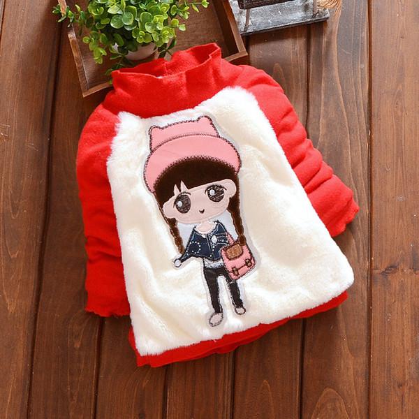 Kış Yenidoğan Bebek Kız Giysileri Kore Rahat Tavşanları Çocuklar Kapşonlu Moda Bebek Tişörtü Infantil Sonbahar Giyim Yenidoğan