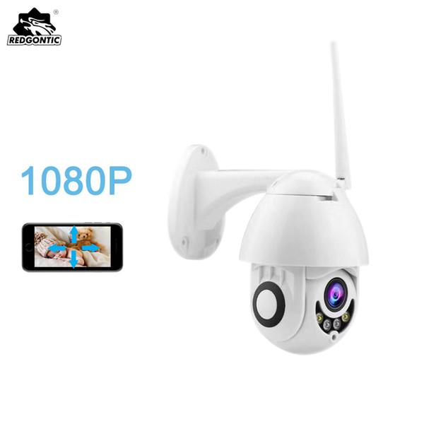 1080P Speed Mini Dome Wifi IP Camera 2mp PTZ per esterni Wireless Camera Android sd Scheda Slot Sicurezza domestica impermeabile