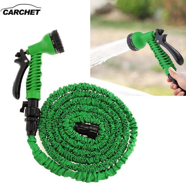 CARCHET Car-Styling Auto Washing Gun 25FT Expanding Car Washer Flexible Car Garden Washing Cleaning Tool Machine 7.5m