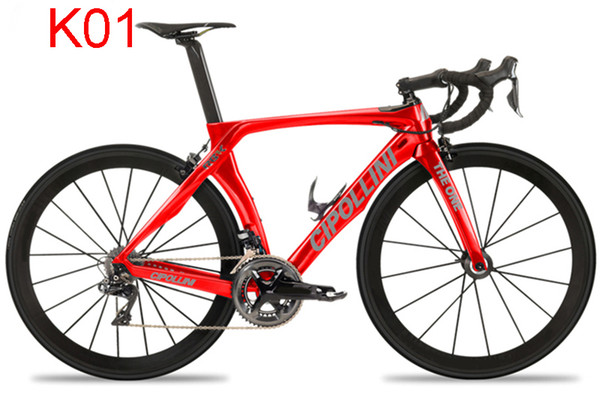 Cipollini RB1K ONE Bicycle Complete carbon road bike with 50mm carbon wheels original 5800/R8000 groupset Whole road bike free shipping