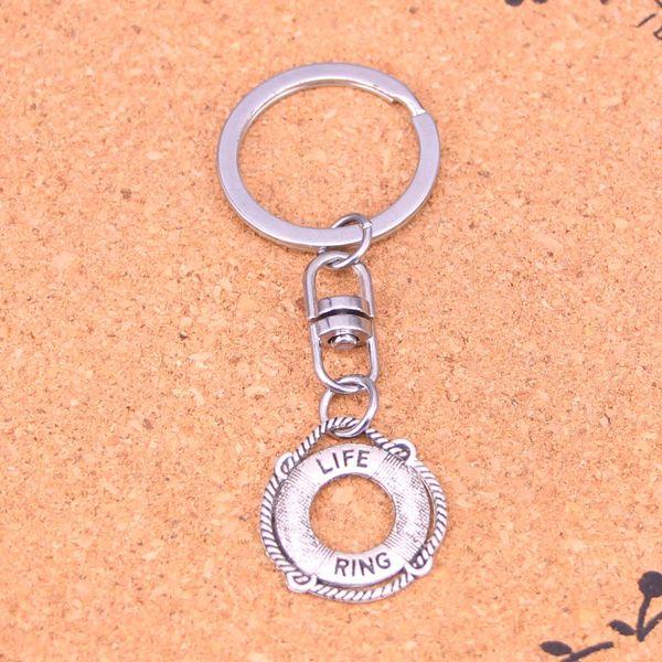Nuovo design life life life life anello portachiavi auto portachiavi portachiavi ciondolo in argento per uomo donna regalo