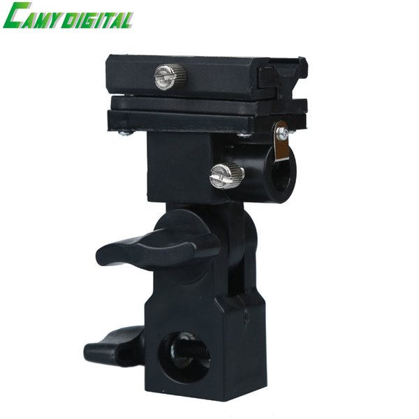 Speedlite Accessories Type B Flash Hot Shoe Umbrella Holder Mount Bracket Universal For Speedlite/Camera Flash