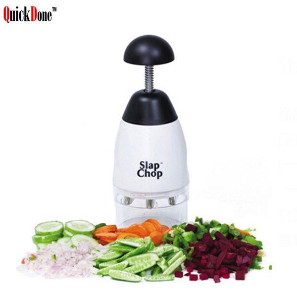 wholesale Slap Chop Garlic Vegetable Fruit Chopping Grater Slicer Durable Slicer Crushing Shredder Kitchen Accessories AKC6184