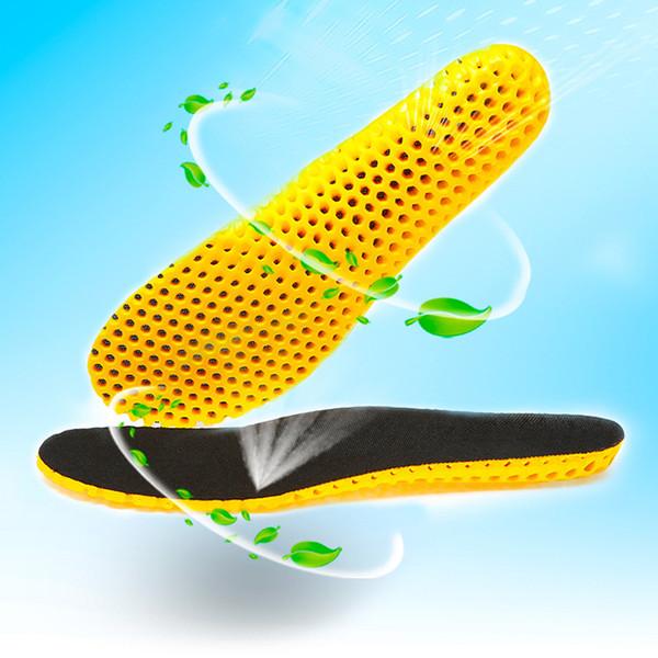 Новые Унисекс Летние Спортивные Стельки Сота Дышащие Сотовые Дышащие Стельки с Высокими Эластичными Ударопрочными Стельками для Продажи
