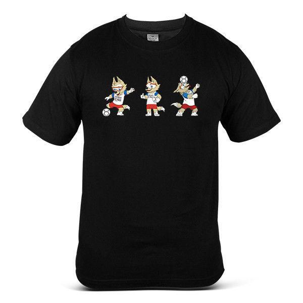 World cup 2018 Football Soccer Football Streetwear Jersey Top Mens Tee T-Shirt