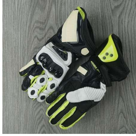 A Motorcycle Gloves GP GlovesReal Leather Sports racing Moto Waterproof Gloves Motorcycle Protective Gears Motocross Gloves gift