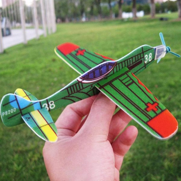 20Pcs/Lot Flying Glider Planes Air Sailer Toy Airplane Birthday Christmas Gift for Children