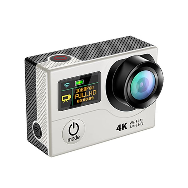 4K HD 2 inch 170° HDMI WIFI Camera H3R 2.4G remote control Dual Screen Action Cameras 4K 25FPS Sport DV