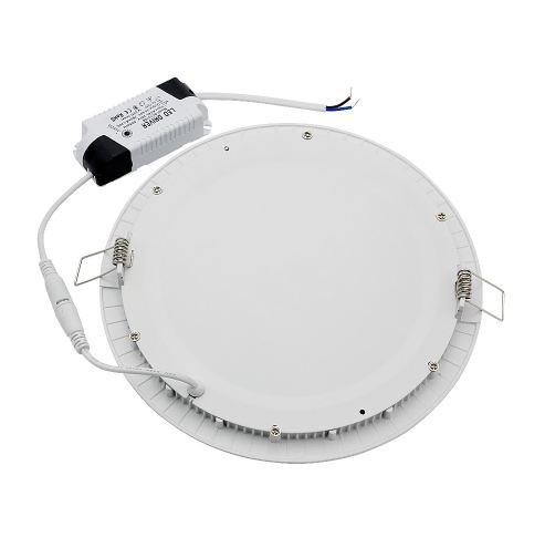 1pcs CE&RoHs LED Downlight Round Lamp 3W 6W 9W 12W 15W 18W Dimmable Ceiling Recessed Bulb AC 85-265V Panel Light With Driver